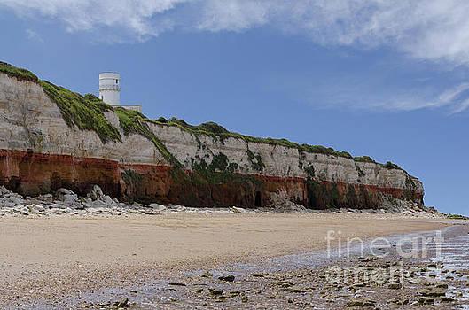 Hunstanton cliffs by Steev Stamford