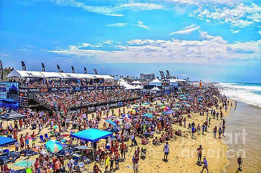 Julian Starks - Huntington Beach Surfing Contest