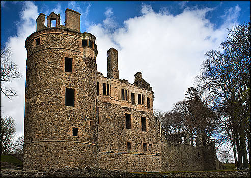 Huntly Castle by Andy Stuart