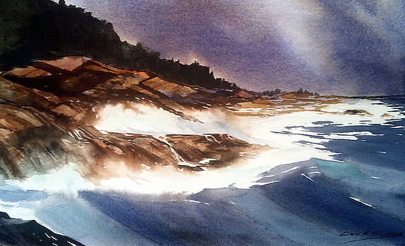 Hurricane '03' Halifax by Don F  Bradford