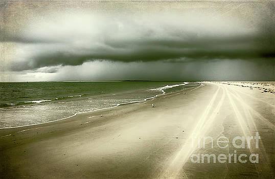 Hurricane Storm Ocracoke Island Outer Banks by Dan Carmichael