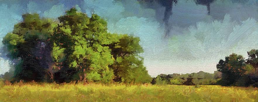 Hush Over The Prairie by Cedric Hampton