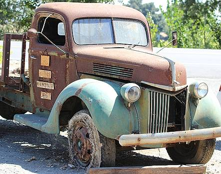 Gary Canant - Husicks Old Truck Right Side