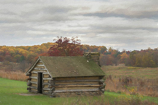 Hut in Autumn by Jeff Oates Photography