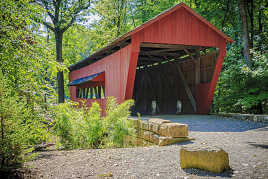 Jack R Perry - Hutchins Covered Bridge