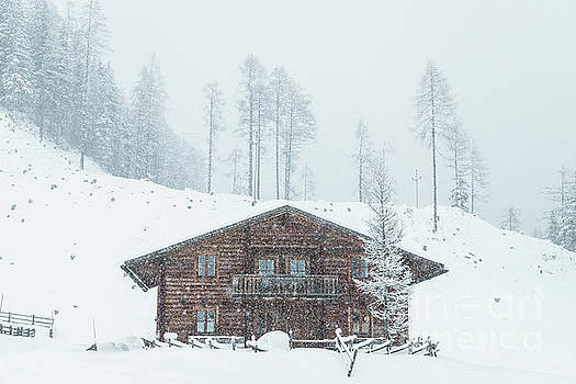 Huts and Winter Landscapes by Travel and Destinations - By Mike Clegg