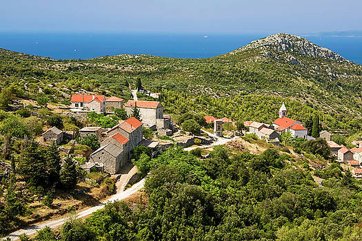 Hvar Croatia Overview by Sally Weigand