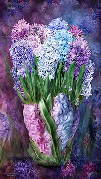 Hyacinth In Hyacinth Vase 1 by Carol Cavalaris