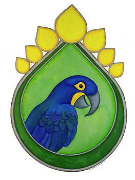 Hyacinth Macaw by Tara Warburton-Schwaber