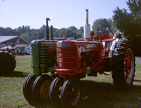 Hybrid Tractor by Edwin Voorhees