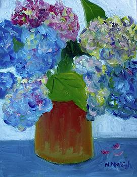 Hydrangea Bouquet by Marita McVeigh