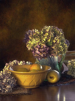 Hydrangea Cuttings by John Rivera