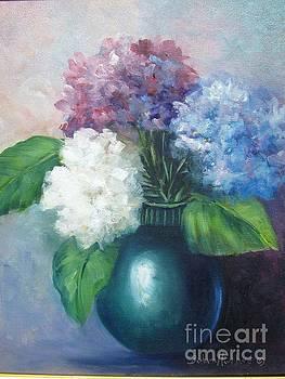 Hydrangeas by Barbara Haviland