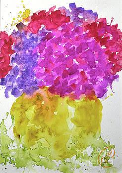 Hydrangeas by Lynda Cookson