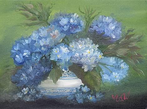 Hydrangeas by Natascha de la Court