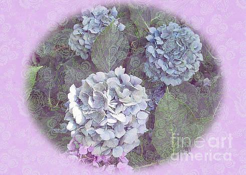 Hydrangeas by Victoria Harrington