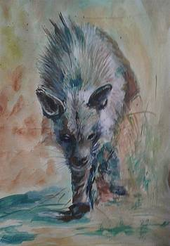 Hyenas by Khalid Saeed