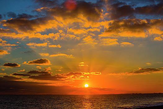 Hythe Sunset by David Hare