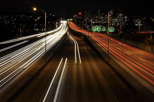 Pelo Blanco Photo - I-5 at Night 2