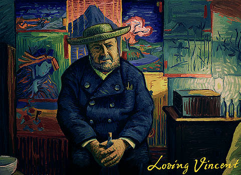 I am afraid you will never deliver that letter to Theo van Gogh by Jakub Podlodowski