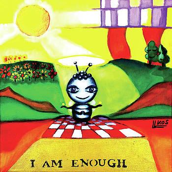 I am enough by Lorette Kos