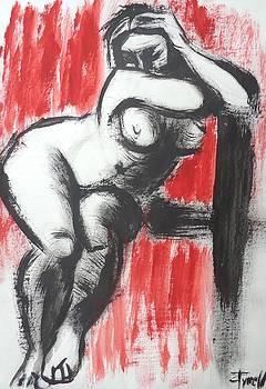 I Am Not In Love 3 - Female Nude by Carmen Tyrrell