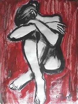 I Am Not In Love 4 - Female Nude by Carmen Tyrrell