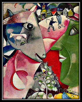 Marc Chagall - I And The Village