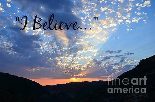 I Believe by Sharon Tate Soberon