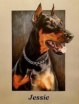 I Do commission Dog Paintings PLEASE E MAIL MY FOR PRICING by Sports Art World Wide John Prince
