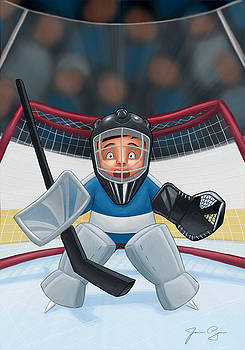 I Hate Being The Goalie by Jamie Pogue