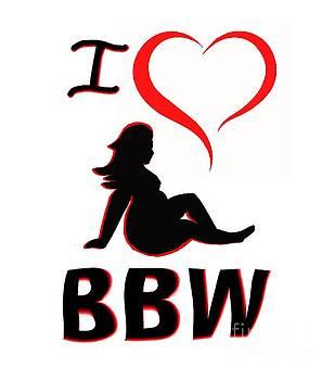 I Heart BBW by Mark Moore