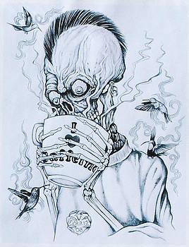 I Heart Caffeine by Vernon Farris