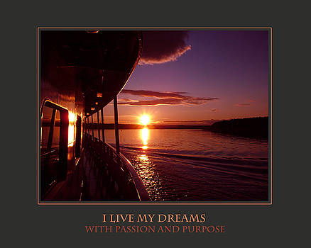 Donna Corless - I Live My Dreams With Passion and Purpose