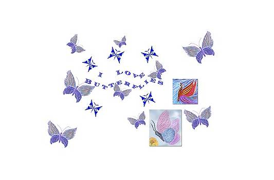 Barbara Burns - I Love Butterflies