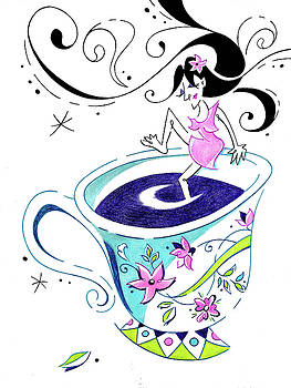 Arte Venezia - I Love Coffee - Art Book Illustration