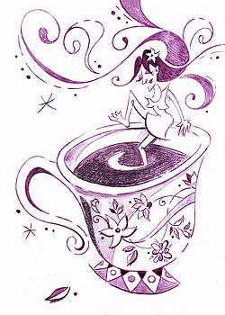 Arte Venezia - I Love Coffee Illustration - Arte Caffe