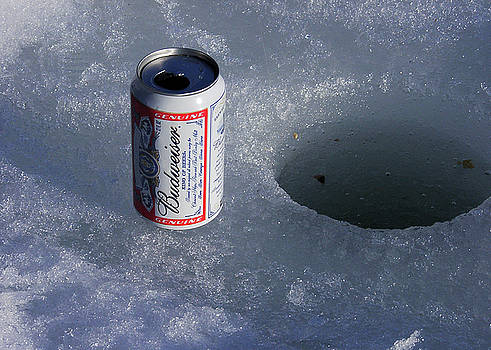 I Love Ice Fishing by Don White