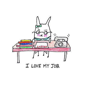 I Love My Job  by Ashley Lucas