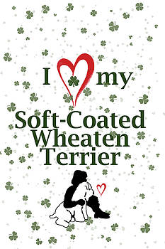 I Love My Wheaten Terrier by Rebecca Cozart