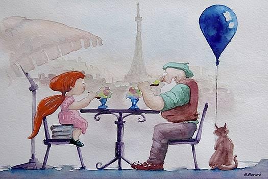I Love Paris Grandpa by Geni Gorani