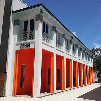I Love the Colors of the Fendi Store by Gayle Faucette Wisbon