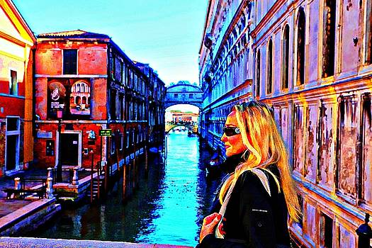 I Love Venice by Carrie OBrien Sibley