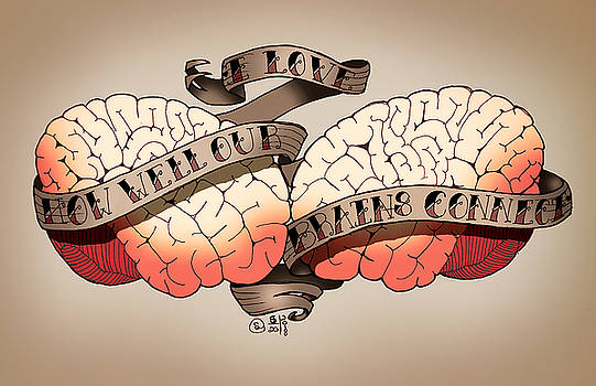 I Love When Our Brains Connect by Sarah Dolezal