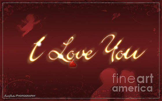 I Love You Greeting Card by Scott Parker