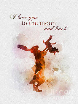I love you to the moon and back by My Inspiration