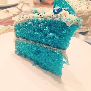 I Made Him Blue Velvet Cake With by Sarah Verdejo