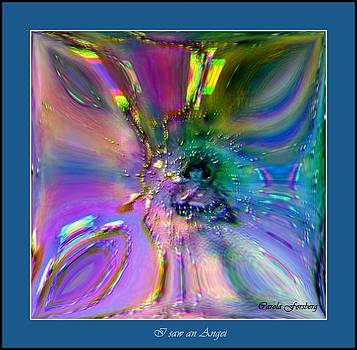 I saw an Angel by Carola Ann-Margret Forsberg