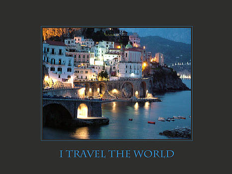Donna Corless - I Travel The World Amalfi