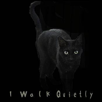 I Walk Quietly by April Burton